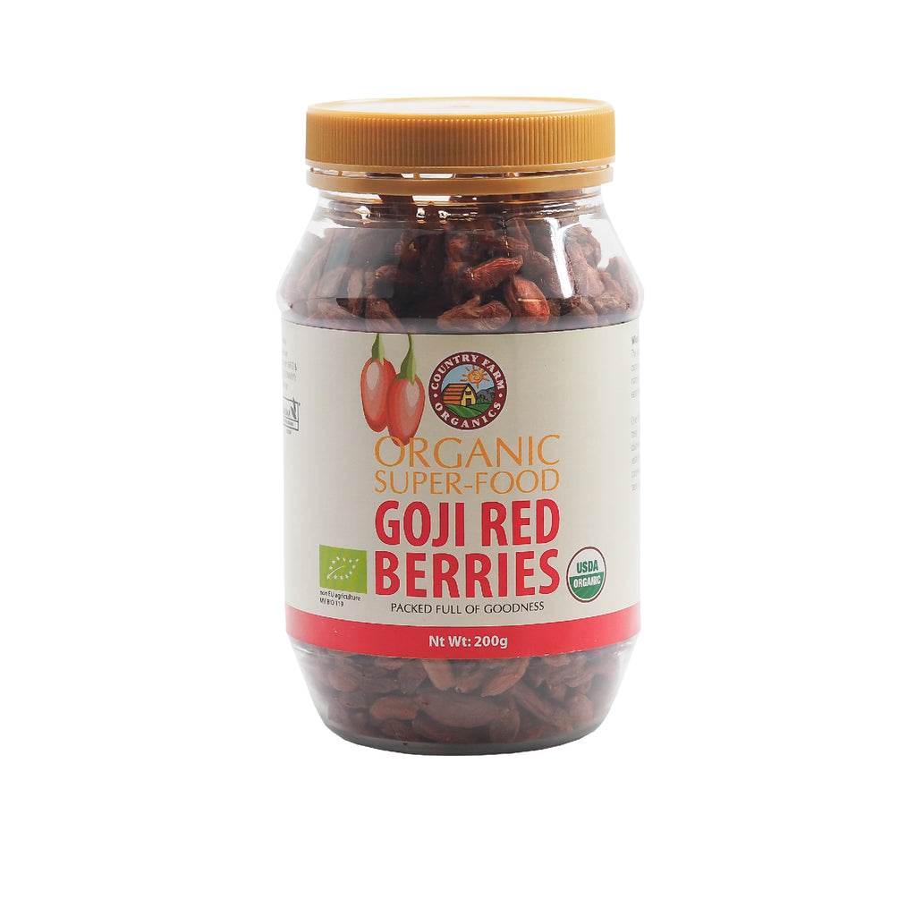 Organic Dried Goji Red Berry