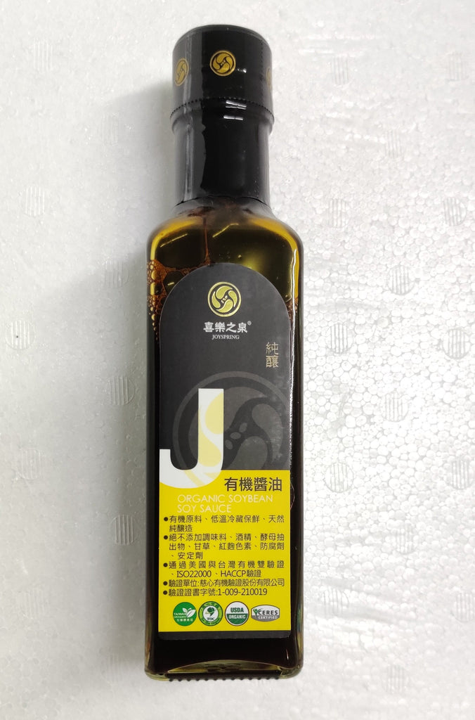 Organic Soybean Soy Sauce 有机酱油