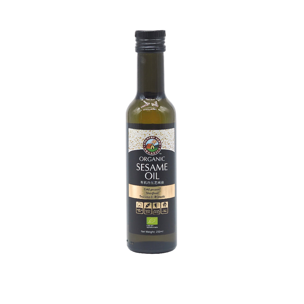 Organic Cold Pressed Sesame oil 250ml