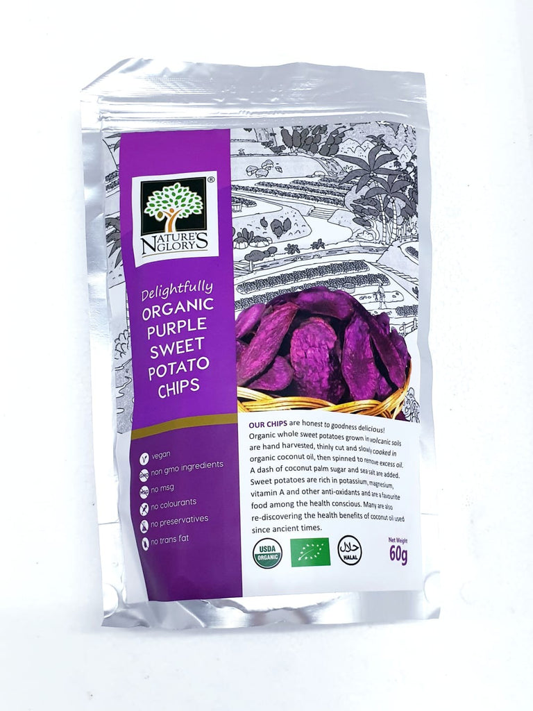 Organic Purple Sweet Potato Chips