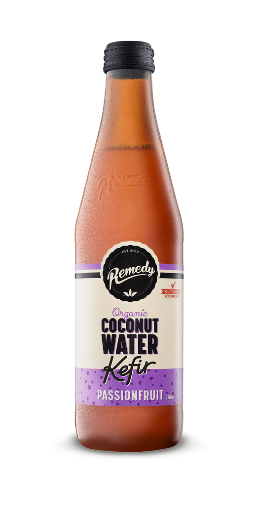 Organic Coconut Kefir Passion fruit 330ml