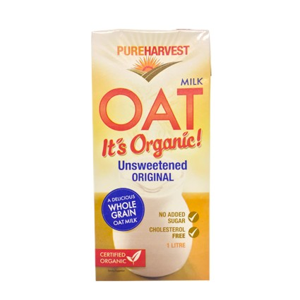 Pure Harvest Organic Oat Milk