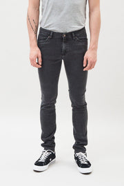 Snap Jeans Old Black