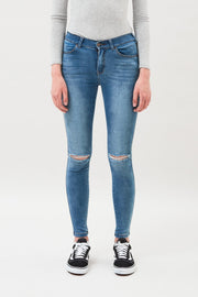 Lexy Jeans Light Stone Destroyed - Dr Denim Jeans - Australia & NZ