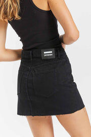 Anita Skirt Black - Dr Denim Jeans - Australia & NZ