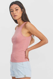 Bianca Singlet Rose Blush