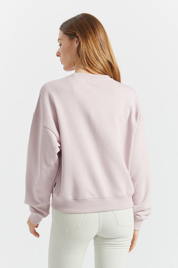 Glade Sweater Rose Quartz - Dr Denim Jeans - Australia & NZ