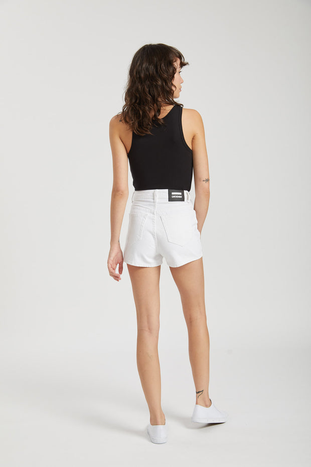 Jonna Shorts White