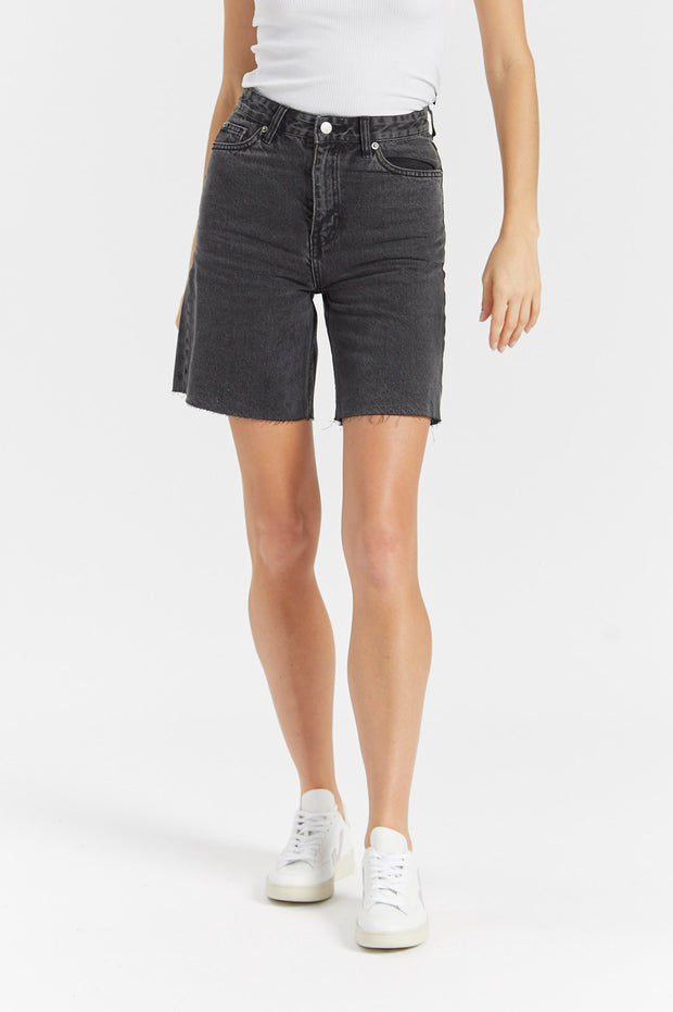 Meja Shorts Retro Black - Dr Denim Jeans - Australia & NZ