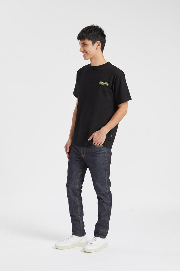 Trooper Tee Black Latitude - Dr Denim Jeans - Australia & NZ