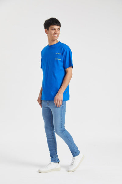Trooper Tee Buzzing Blue Dream - Dr Denim Jeans - Australia & NZ