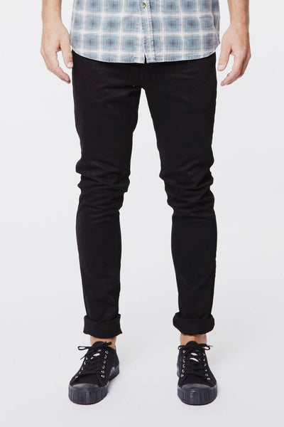 Clark Jeans Solid Black - Dr Denim Jeans - Australia & NZ