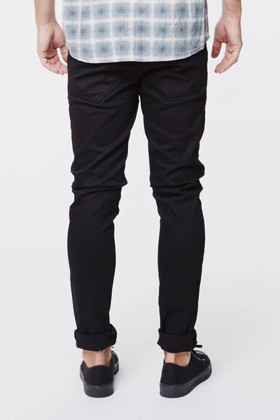 Clark Jeans Solid Black