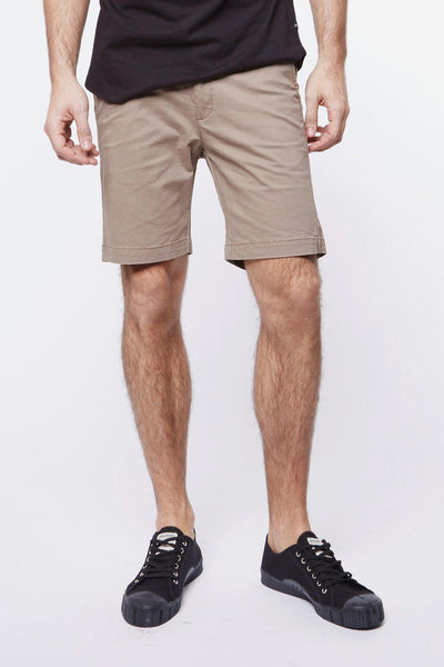 Wood Shorts Camel