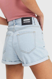 Jenn Shorts Superlight Indigo Blue | Dr Denim Jeans Australia