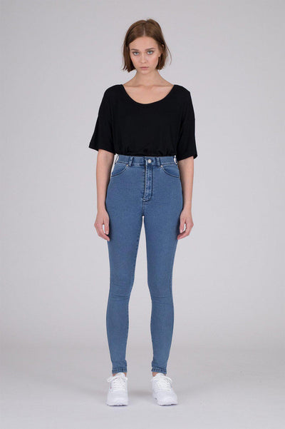 Moxy Jeans Pure Mid Blue