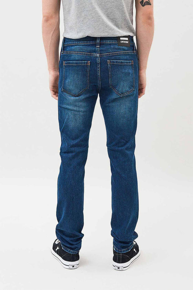 Snap Jeans Shaded Dark Blue