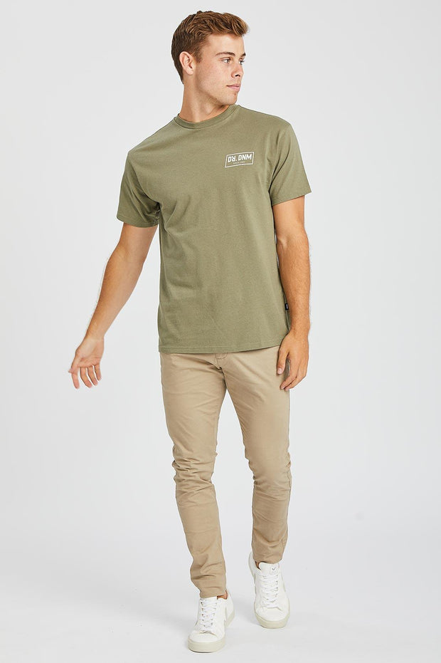 Trooper Tee Light Emerald NE Wordmark - Dr Denim Jeans - Australia & NZ