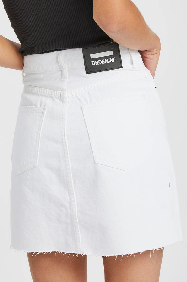 Echo Skirt White | Dr Denim Jeans Australia