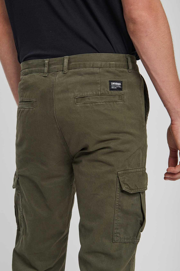 Dash Cargo Pants Dark Emerald - Dr Denim Jeans - Australia & NZ