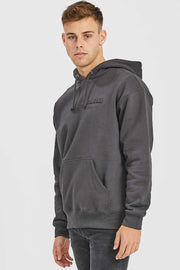 Damien Hoodie Graphite NV Shadow | Dr Denim Jeans Australia