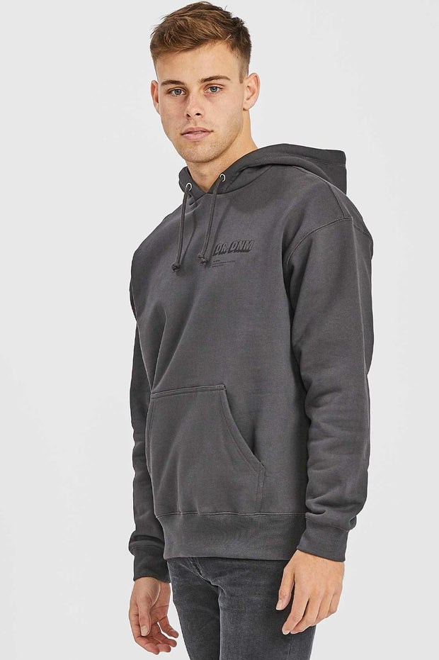 Damien Hoodie Graphite NV Shadow - Dr Denim Jeans - Australia & NZ