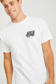 Trooper Tee White WY Patch