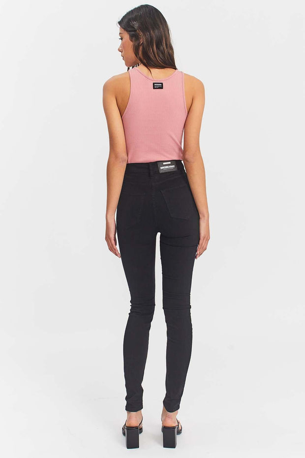 Zoe Jeans Black - Dr Denim Jeans - Australia & NZ