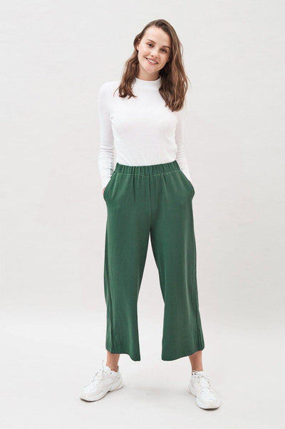 Abel Trousers Deep Green