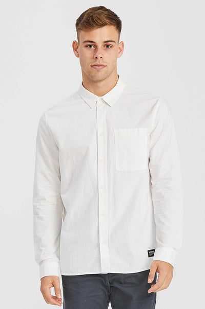 Dale Shirt White - Dr Denim Jeans - Australia & NZ
