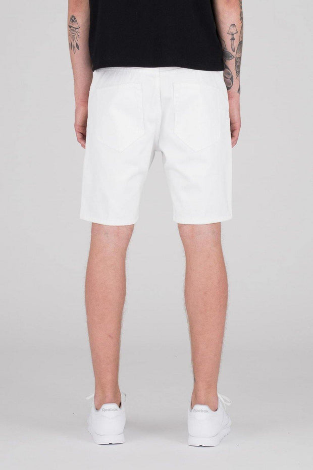 Bay Shorts White - Dr Denim Jeans - Australia & NZ