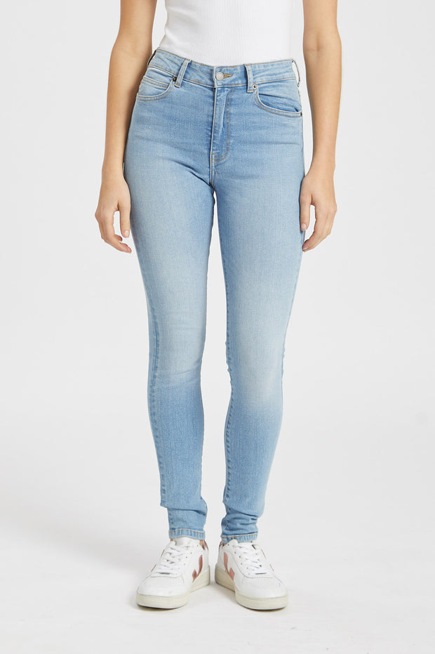 Erin Jeans Distorted Blue - Dr Denim Jeans - Australia & NZ