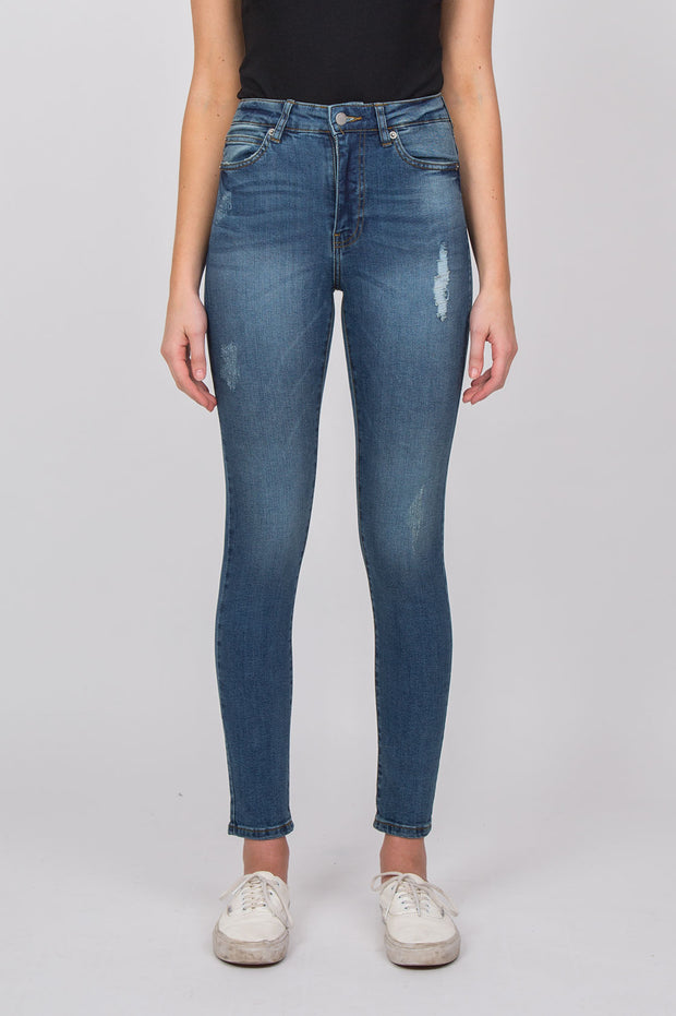 Erin Jeans Railroad Blue - Dr Denim Jeans - Australia & NZ