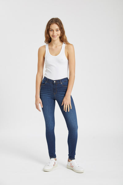 Lexy Jeans Atlantic Dark Blue - Dr Denim Jeans - Australia & NZ