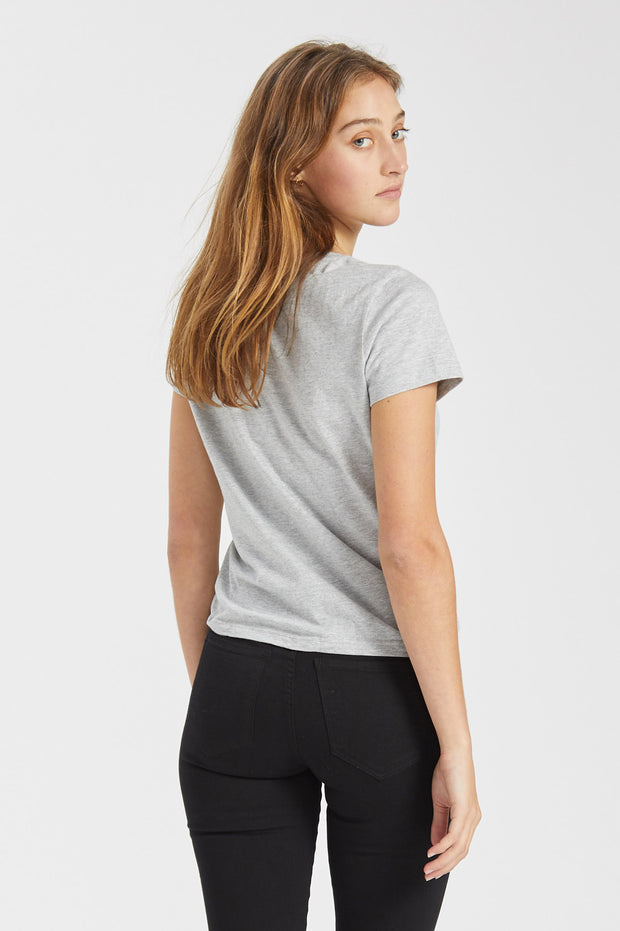 Luna Tee Light Grey Mix