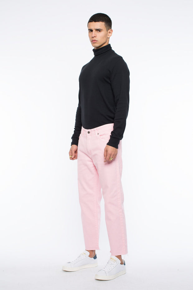 Otis Jeans Player Pink Raw Hem - Dr Denim Jeans - Australia & NZ