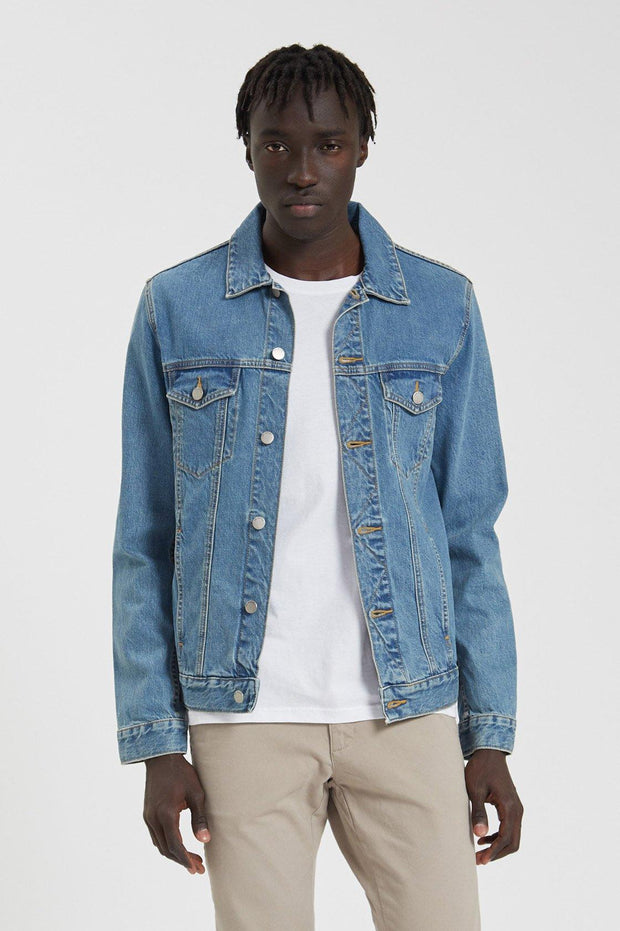 Roy Trucker Jacket Generation Blue