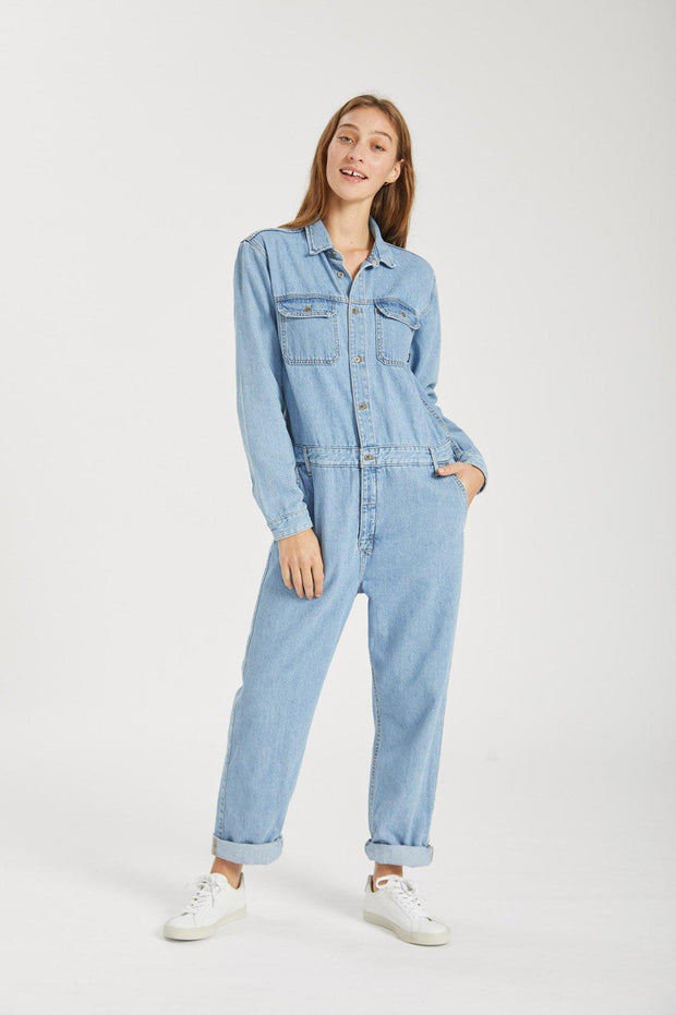 York Boiler Suit Light Retro - Dr Denim Jeans - Australia & NZ