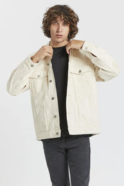Eno Jacket - Ecru - Dr Denim Jeans - Australia & NZ