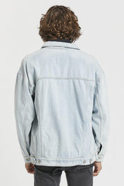 Eno Jacket - Superlight Blue - Dr Denim Jeans - Australia & NZ