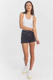 Jenn Shorts Retro Black | Dr Denim Jeans Australia