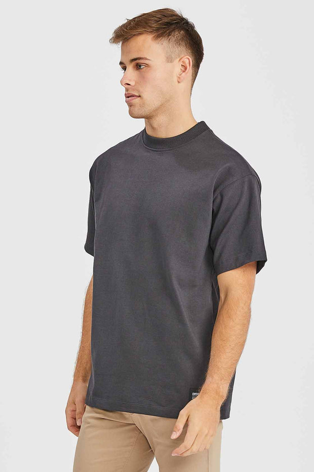Major Tee Graphite | Dr Denim Jeans Australia