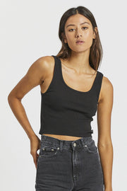 Maxida Top - Black - Dr Denim Jeans - Australia & NZ