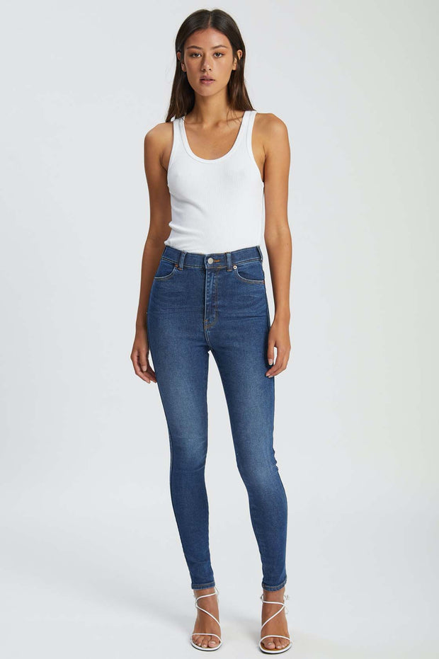Moxy Jeans Westcoast Dark Blue - Dr Denim Jeans - Australia & NZ