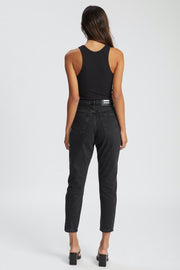 Nora Jeans Black Retro