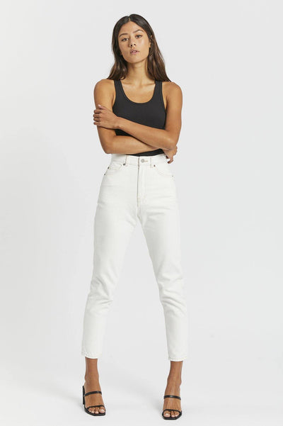 Nora Jeans - Light Ecru - Dr Denim Jeans - Australia & NZ
