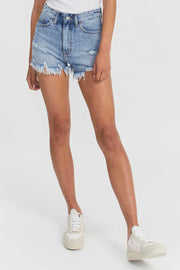 Skye Shorts Destiny Light Blue Ripped