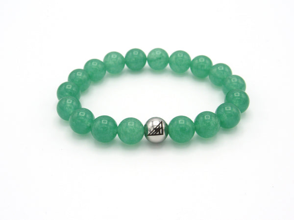 Brync Green mint Men Women Beaded Bracelet st. Patrick's day