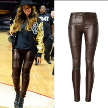 Load image into Gallery viewer, Women's Faux Leather Pants