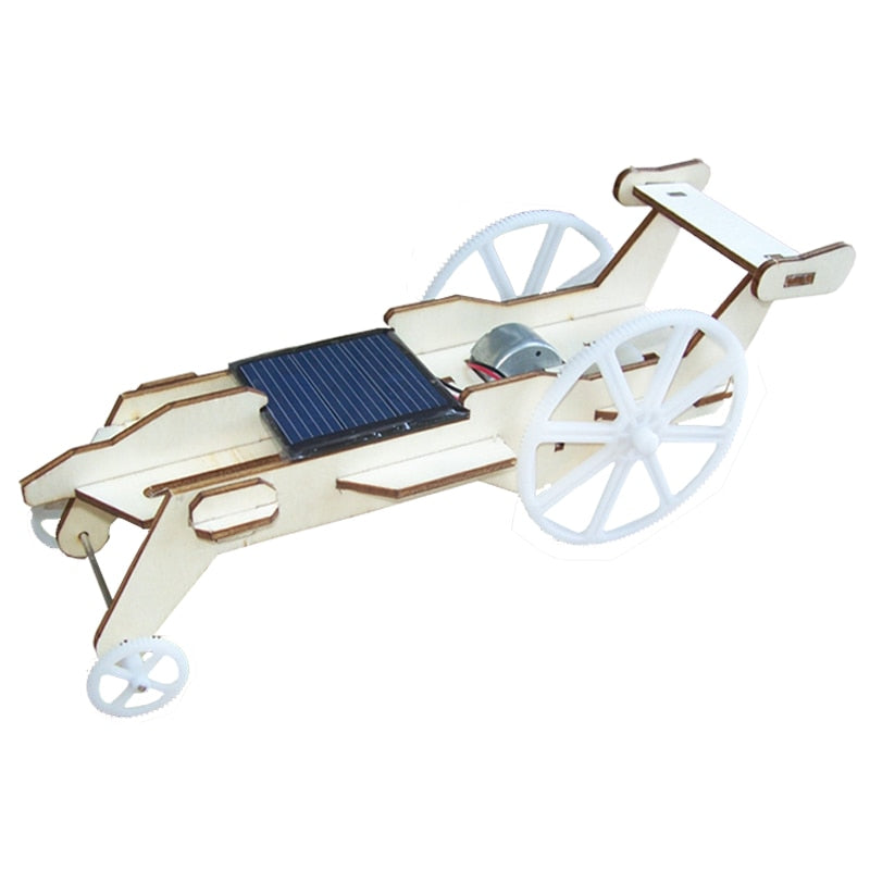 Mini Solar-Powered Racing Car
